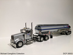 Diecast replica of Arco Kenworth W900 daycab with tanker,DCP 30933 (Michael Cereghino (Avsfan118)) Tags: scale truck toy model die w semi cast 164 arco tanker 900 kw promotions kenworth diecast dcp w900 30933 daycab w900l replcia