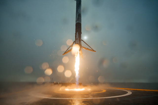 First stage of Falcon 9 rocket