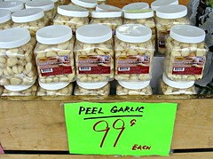 Peel Garlic (knightbefore_99) Tags: food colour art vancouver drive market chinese tasty victoria 99 bbc condiment jar garlic peel eastvan johnpeel