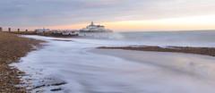 Eastbourne Seafront at Sunrise (Matt Kuchta) Tags: sunrise sussex pier pebbles eastbourne seafront groyne