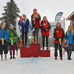 Enquist 2016 Mt. Seymour - Sunday Women's U16 Podium PHOTO CREDIT: Hans Forssander