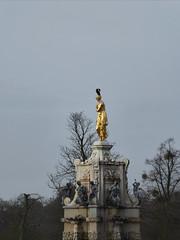 Arethusa (Gilder Kate) Tags: winter fountain statue lumix gold january panasonic diana mistletoe cormorant royalparks hampton waterfeature gilded middlesex gilding bushypark royalpark arethusa dianafountain sirchristopherwren panasoniclumix tz70 dmctz70 panasoniclumixdmctz70