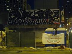 CHUB, HEAD & CHAZ (Billy Danze.) Tags: chicago graffiti head chub d30 chaz