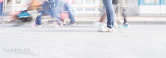 the shoes - sandalous (DMotown) Tags: people blur feet walking movement shoes day bright passages highkey passing