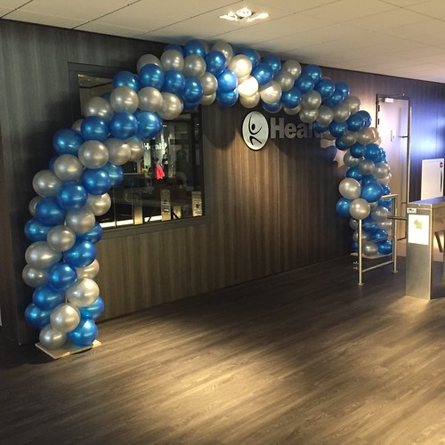 Ballonboog 7m Opening Healthcity Amstelveen