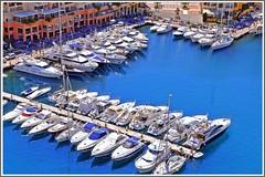 Port de Fontvieille (Cervusvir) Tags: france beach strand frankreich montecarlo monaco fontvieille francia plage alpesmaritimes mediterranee mittelmeer sea french mediterranean cte meeralpen dazur riviera
