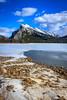 Mount Rundle (achinthaMB) Tags: winter mountain snow canada ice rockies alberta mountrundle banffnationalpark canadianrockies vermilionlake canoneos550d canonrebelt2i