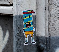 HH-Sticker 2037 (cmdpirx) Tags: street urban art public painting graffiti stencil nikon sticker artist post mail 7100 d space raum kunst strasse glue hamburg vinyl crew trading marker hh aerosol aufkleber handdrawn combo kleber paket handgemalt ffentlicher kuenstler