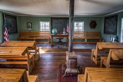 Doe Hill Schoolhouse (Elizabeth_211) Tags: school architecture vintage tennessee historic hdr westtn sherielizabeth