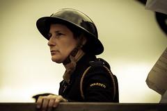 The Warden (technodean2000) Tags: uk wales nikon war weekend wwii 1940s ww2 lightroom enactment blaenavon d610