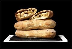 Peshwari Naans (Sweet Scot) Tags: food dinner crust bread baking baker indian rustic cook almond fresh eat homemade honey yeast bake raisin naan foodphotography nourish foodstyling