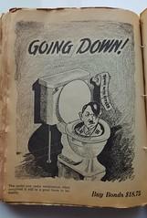 Vintage Advertising-Propoganda (Bubash) Tags: vintage advertising us nazi hitler toilet ww2 bonds 1941 propganda