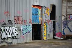 Rennes - atana studio (Anthony SJOURN) Tags: street art abandoned bar studio hangar tags demolition graphs anthony tole asphalt rennes usine travaux beton bitume ciment chantier fresque industrielle graphitis friche atana sjourn