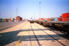 Port 04 (The original SimonB) Tags: film port suffolk july scanned 1991 felixstowe