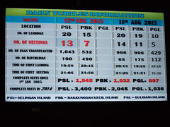 Turtle Scoreboard (m_c2012) Tags: malaysia borneo sabah turtleisland selinganisland