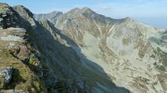 Widok na podejście na Smutną Przełęcz