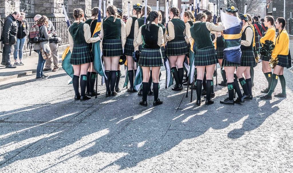 SHORECREST HIGH SCHOOL [ST. PATRICK'S PARADE IN DUBLIN 2016]-112215