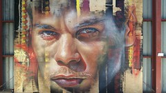 Adnate...Woodend, Victoria... (colourourcity) Tags: charity streetart graffiti awesome awol sustainability woodend countryvictoria adnate colourourcity artofthemill nfagallery nofixedaddressgallery colourourcitywoodend colourourcityartofthemill
