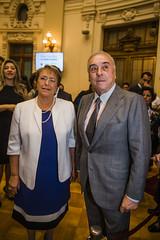 Michelle Bachelet, Juano Hortadan