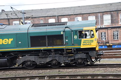 DSC_1112 Doncaster Railway Station 66543 Freightliner Locomotive Class 66 (photographer695) Tags: england ontario canada london make station by that is sad general railway it any 66 class does longer built locomotion doncaster freightliner 19982000 66543 motorsemd locomatives