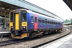 153305 at Bristol Temple Meads (Railpics_online) Tags: class153 diesel multipleunit pacer bristol templemeads firstgreatwestern 153305 dmu sprinter dieselmultipleunit passenger train railcar railway uk