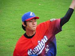 IMG_3232_副本 (vivian_10202) Tags: baseball taoyuan cpbl lamigo 王溢正