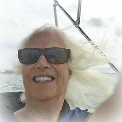 Wind Blown (soniaadammurray - SLOWLY TRYING TO CATCH UP) Tags: selfportrait boating windblown digitalphotography meagainmonday