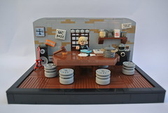 Sons of Anarchy - Meeting Room (-Balbo-) Tags: lego creation anarchy redwood jax chapter teller sons moc samcro