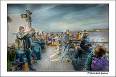 MERSEY FERRY (Derek Hyamson) Tags: ferry liverpool candid hdr mersey