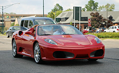Ferrari F430 Spider (SPV Automotive) Tags: red sports car spider convertible ferrari exotic supercar f340