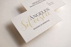 ngeles Silvestre (El Calotipo) Tags: color design businesscards edge silkscreen diseo tarjetas serigrafa