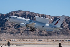 RAAF Wedgetail (joseluiscel (Aviapics) Thks for 3 million views) Tags: boeing raaf redflag nellis e7a klsv a30001 wedegetail
