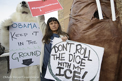 Gambling With Arctic Ice (Greenpeace USA 2016) Tags: usa alaska energy gas arctic anchorage oil activist drilling boem publichearing