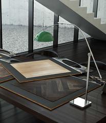 Tadao Ando 0002 (_H2OO) Tags: wood green lamp cg interiors floor cut render material tadaoando airon