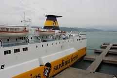 Sardinia Ferries (demeeschter) Tags: sea italy port boats harbour corsica ferries vado ligure