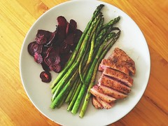 Dinner is served. (jenschuetz) Tags: food cooking vegetables dinner recipe healthy yum meat eat homemade paleo primal glutenfree dairyfree grainfree