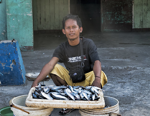 Fish merchant by Beegee49, on Flickr