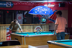 Pool Shooters-1 (Mr. Low Notes) Tags: people game pool bar night canon candid billiards 70d