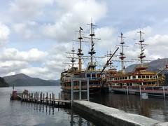 Pirate ships (rocketlass) Tags: japan hakone pirateship ashinoko lakeashi