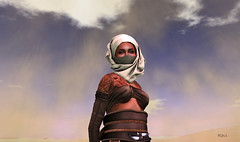 Poisoned Desert (| Raven |) Tags: life desert sl second turban tuareg