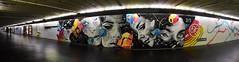 Dourone (HBA_JIJO) Tags: street light urban panorama streetart paris france art wall painting graffiti eyes artist femme spray peinture rue mur flickrunited dourone douroneilustracin hbajijo quai36