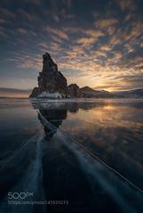 distance (PhiladelphiaHVAC165) Tags: ice island russia siberia baikal