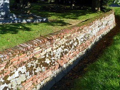 Retaining wall at St Mary's Church, Bayford (Peter O'Connor aka anemoneprojectors) Tags: england building wall kodak outdoor stmaryschurch hertfordshire listed retainingwall listedbuilding 2015 gradetwo gradeiilisted grade2listedbuilding bayford grade2listed gradeiilistedbuilding gradetwolisted gradetwolistedbuilding z981 kodakeasysharez981