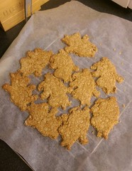 Moomin oatcakes (KT-wu) Tags: cooking cheese recipe baking dough homemade biscuits moomins oatcakes