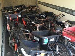 Some old delivery bikes never die. (sprocket316) Tags: workbike pashley deliverybike butchersbike rodbrakes tradebike bakersbike pashleyworkbike