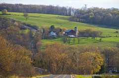 The Farm Scene (Matt Champlin) Tags: life green home nature barn rural canon landscape peace farm country farming peaceful hills growth cny fields upstatenewyork lush idyllic rolling countrylife countryroads 2016 camillus