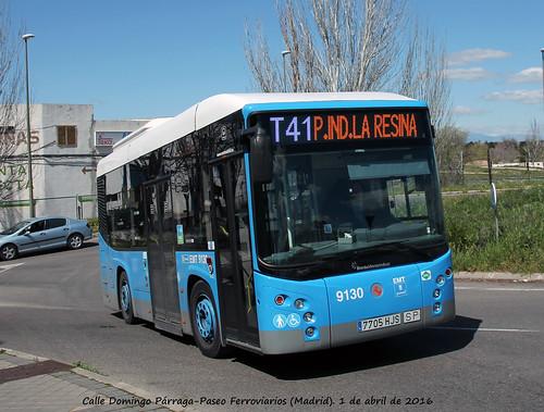 BredaMeraniniBus Vivacity Plus C - EMT Madrid nº 9130
