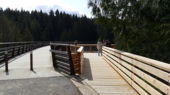 New Northside Viewing Platform Kinsol Trestle (wjis21) Tags: food bicycle restaurant walk hike shawniganlake shawnigan tct kinsoltrestle kinsol transcanadatrail chippery villagechippery