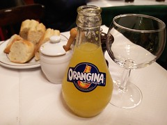 Orangina (A. Wee) Tags: paris france restaurant orangina softdrink    lerelaisdevenise