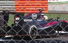 Fernando Alonso (sfryers) Tags: italy cars corner honda track italia sigma f1 racing apo grandprix mclaren formulaone fernando hybrid formula1 alonso monza chicane pirelli 70300 fp3 granpremio italiangrandprix openwheel 1456 freepractice mp430
